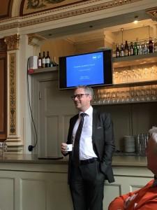 Roger Eriksson, informatör ESS, pratade framtid och enorma möjligheter!