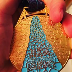 Visst är medaljen snygg?!