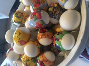 Påklädda ägg!