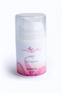 Divine, massageolja Romance, 50 ml